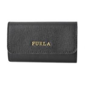 FURLA FUR・18S BABYLON6連キーケース RL71-920783/ONYX/81 ブラック/ブラック