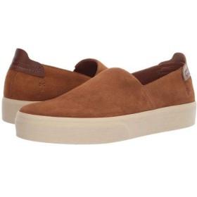 [フライ] メンズ 男性用 シューズ 靴 スニーカー 運動靴 Beacon Slip-On - Brown Oiled Suede 10.5 D - Medium [並行輸入品]
