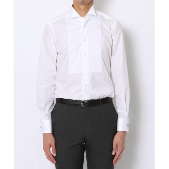 トゥモローランド 140/2コットンブロード ウィングカラー ドレスシャツ メンズ ホワイト 37 【TOMORROWLAND】