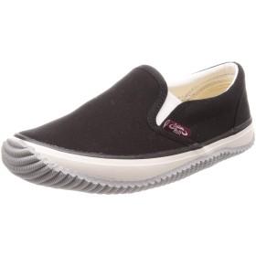 [福山ゴム] カジュアル作業靴 ラスティングブル レディース ブラック 24 cm 3E