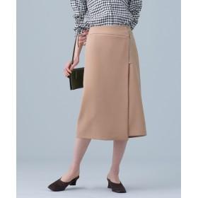 ZIP使いラップスカート 5000円以上送料無料【公式/ナノ・ユニバース】