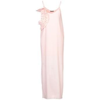 《セール開催中》FRANCESCA CONOCI レディース ロングワンピース&ドレス ピンク S ポリエステル 100%