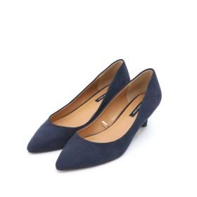 【公式/NATURAL BEAUTY BASIC】ポインテッドプレーンパンプス/女性/靴・パンプス/ダークブルー/サイズ:23.5/