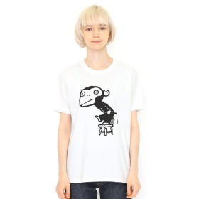 [マルイ] 【ユニセックス】コラボレーションTシャツ/さるるるるイス(五味太郎)/グラニフ(graniph)
