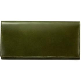 (ドゥエンデ) duende コードバン 長財布 メンズ 日本製 (グリーン)