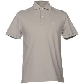 《セール開催中》BALLANTYNE メンズ ポロシャツ ライトグレー L コットン 100%
