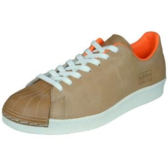 [ADIDAS] Originals Superstar 80s Clean Mens Sneakers/Shoes-Brown-24