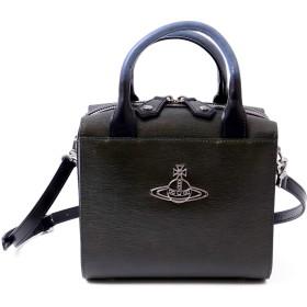 [ヴィヴィアンウエストウッド] Vivienne Westwood バッグ ショルダーバック 2way レザー 本革 4449771 ショップバッグ付き (グリーン)