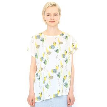 (グラニフ) graniph レディース Tシャツ サキュランツ (ホワイト) レディース Lady (F) (g107)