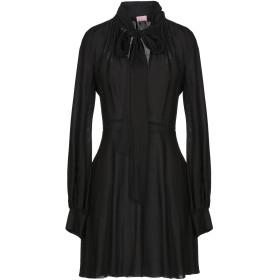 《期間限定セール開催中!》GAMBA レディース ミニワンピース&ドレス ブラック 40 コットン 50% / アセテート 50%