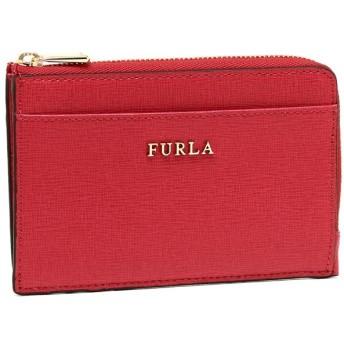 フルラ カードケース FURLA 871009 PR75 B30 RUB BABYLON M CREDIT CARD CASE バビロン 名刺入れ・カードケース 無地 RUBY 赤