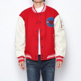 その他アウター - GUESS【MEN】 [GUESS] LS GUESS 81 CLUB VARSITY JKT