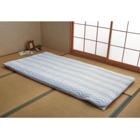 しじら風変わり織り敷きパッド