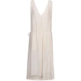 《期間限定 セール開催中》NINEMINUTES レディース 7分丈ワンピース・ドレス ベージュ one size ポリエステル 100%