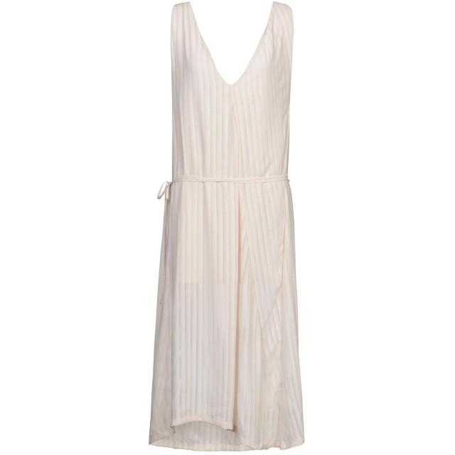 《期間限定セール開催中!》NINEMINUTES レディース 7分丈ワンピース・ドレス ベージュ one size ポリエステル 100%