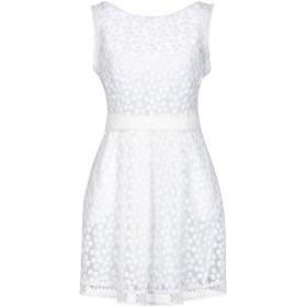 《セール開催中》PICCIONE. PICCIONE レディース ミニワンピース&ドレス ホワイト 42 ポリエステル 100%