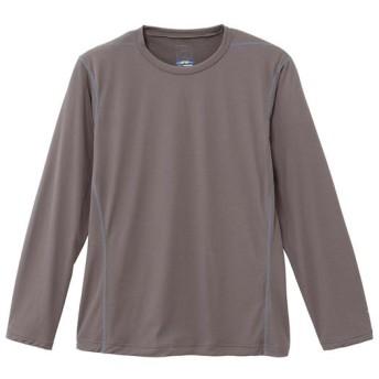 MIZUNO SHOP [ミズノ公式オンラインショップ] ドライアクセルライトメッシュ長袖クルーネックシャツ[メンズ] 07 キャスチャコール A2JA6041