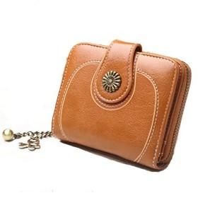 HUIJUNWENTI クリップ付き財布、男性用女性用フロントポケット財布、RFIDブロック、マネークリップ付きスリム財布| Jewelry-stores.co.ukミニマリスト、ミニスリムウォレット、ベストギフト お父さん、リーダー、ボーイフレンドに最高の贈り物を送る (Color : Orange)