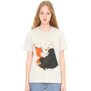 [マルイ] 【ユニセックス】コラボレーションTシャツ/レッド(リトルサンダー)/グラニフ(graniph)