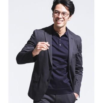 SL 36G SILKY JERSEY 千鳥ジャケット 5000円以上送料無料【公式/ナノ・ユニバース】