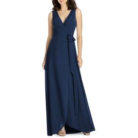 [ジェニー・パッカム] レディース ワンピース Jenny Packham Chiffon Wrap Evening Dress [並行輸入品]