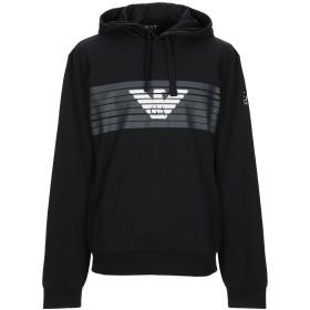 《期間限定 セール開催中》EA7 メンズ スウェットシャツ ブラック XL コットン 100%