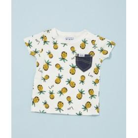 【公式/ナノ・ユニバース】Leeパイナップル柄Tシャツ19SSLee-C-3 5000円以上送料無料【STOMP STAMP】