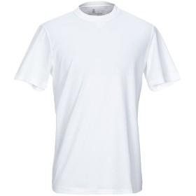 《期間限定セール開催中!》BRUNELLO CUCINELLI メンズ T シャツ ホワイト XS コットン 100%