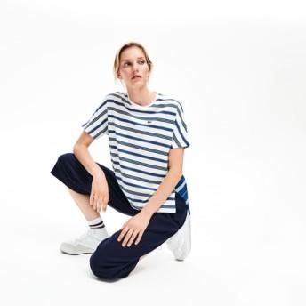 キモノスリーブスイッチバックボーダーTシャツ