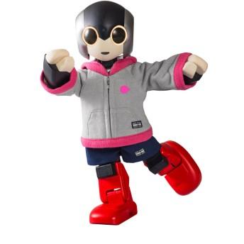 Robi専用ウェア フーディ ピンク(ツーピース)