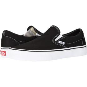 [VANS(バンズ)] メンズスニーカー・靴 Classic Slip-On Core Classics Black (Canvas) Men's 16 (34cm) Medium [並行輸入品]