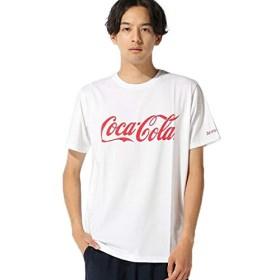 ナノ・ユニバース(nano・universe) :Coca-Cola TシャツSS M ホワイト nano・universe
