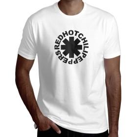 Red Hot Chili Peppers モンスターエナジー Tシャツ メンズ 半袖 カットソー 丸首 無地 ゆったり 大きいサイズ カジュアル プリント シャツ