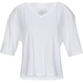 《期間限定 セール開催中》PATRIZIA PEPE レディース T シャツ ホワイト 1 コットン 100%