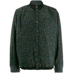 Sacai レオパード シャツジャケット - グリーン