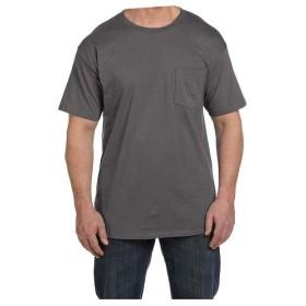 BACKYARD FAMILY ビーフィー半袖Tシャツポケット付 6.1オンス タグ有 メンズ グレー タグ有M 【BACKYARD FAMILY】