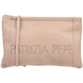 《セール開催中》PATRIZIA PEPE レディース ハンドバッグ ライトピンク 革