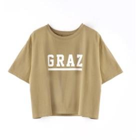 [マルイ]【セール】ロゴプリントショート丈Tシャツ/グランドパーク(GRAND PARK)