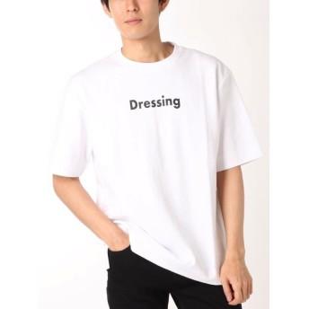 【20%OFF】 コトリカ ポンチプリントTシャツ メンズ オフホワイト L 【COTORICA.】 【セール開催中】