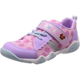 [ディズニー] 運動靴 カーズ ミニー マジック 軽量 14-19cm 2E キッズ DN C1229 パープル 18.0 cm