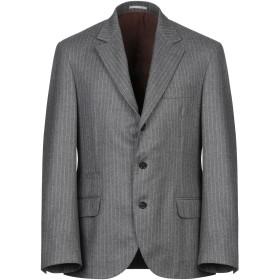 《期間限定セール開催中!》BRUNELLO CUCINELLI メンズ テーラードジャケット グレー 50 ウール 100%