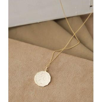 【公式/ナノ・ユニバース】別注Elizabeth Coin Necklace 5000円以上送料無料【on the sunny side of】