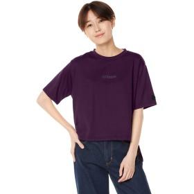 [ウィゴー] WEGO [別注] Kappa カッパ ミニロゴスリット T シャツ FREE フリーサイズ パープル レディース