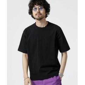 【WEB限定】14S/-天竺ビッグシルエットTシャツ 半袖 5000円以上送料無料【公式/ナノ・ユニバース】