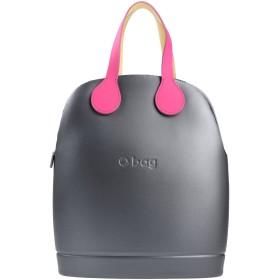 《セール開催中》O BAG by FULLSPOT レディース ハンドバッグ グレー コットン 100%