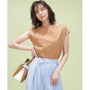 FORMAL JERSEY フレンチスリーブTシャツ 5000円以上送料無料【公式/ナノ・ユニバース】