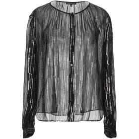 《セール開催中》D.EXTERIOR レディース シャツ ブラック 42 シルク 85% / 金属繊維 15%