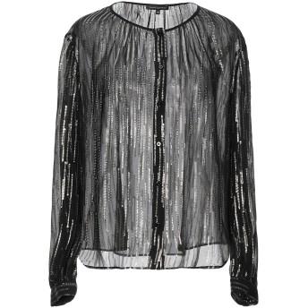 《期間限定セール開催中!》D.EXTERIOR レディース シャツ ブラック 40 シルク 85% / 金属繊維 15%