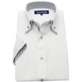 (ブルーム) BLOOM 2018夏 オリジナル 半袖 ワイシャツ クールビズ 形態安定加工 10 M