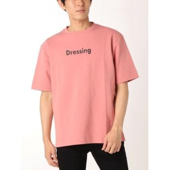 【20%OFF】 コトリカ ポンチプリントTシャツ メンズ ピンク M 【COTORICA.】 【セール開催中】